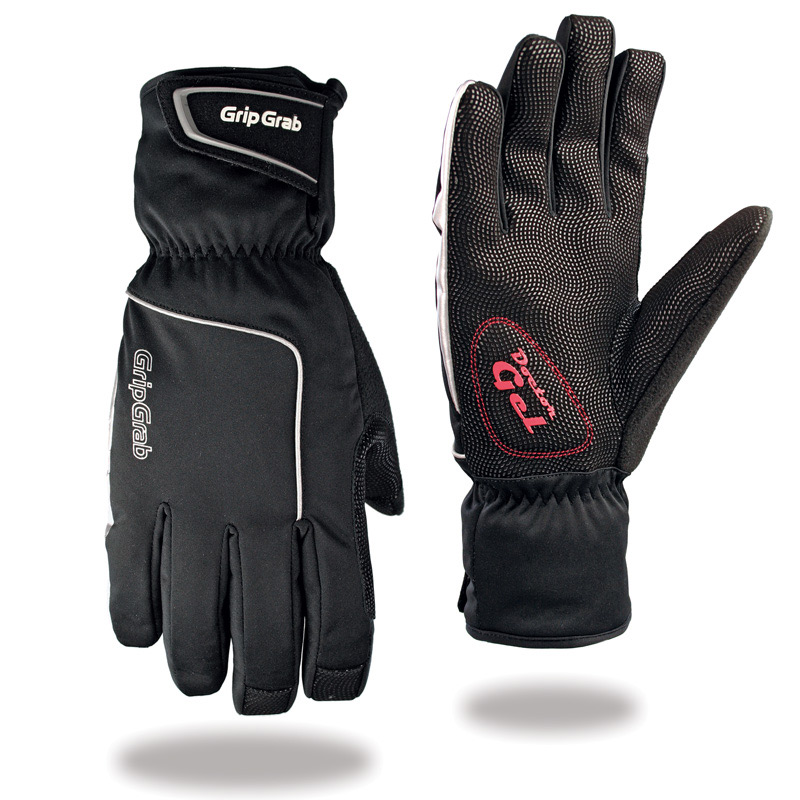 En fem-finger handske som är vind och vattentät för de kalla och blöta vinterdagarna