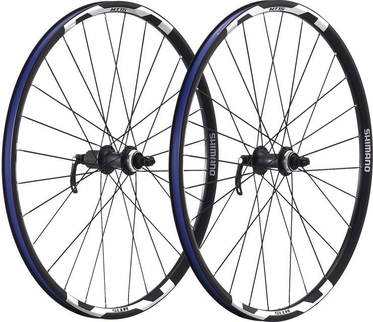 """Mt15 29"""" mt-hjul är ett robust och fint hjul från Shimano."""