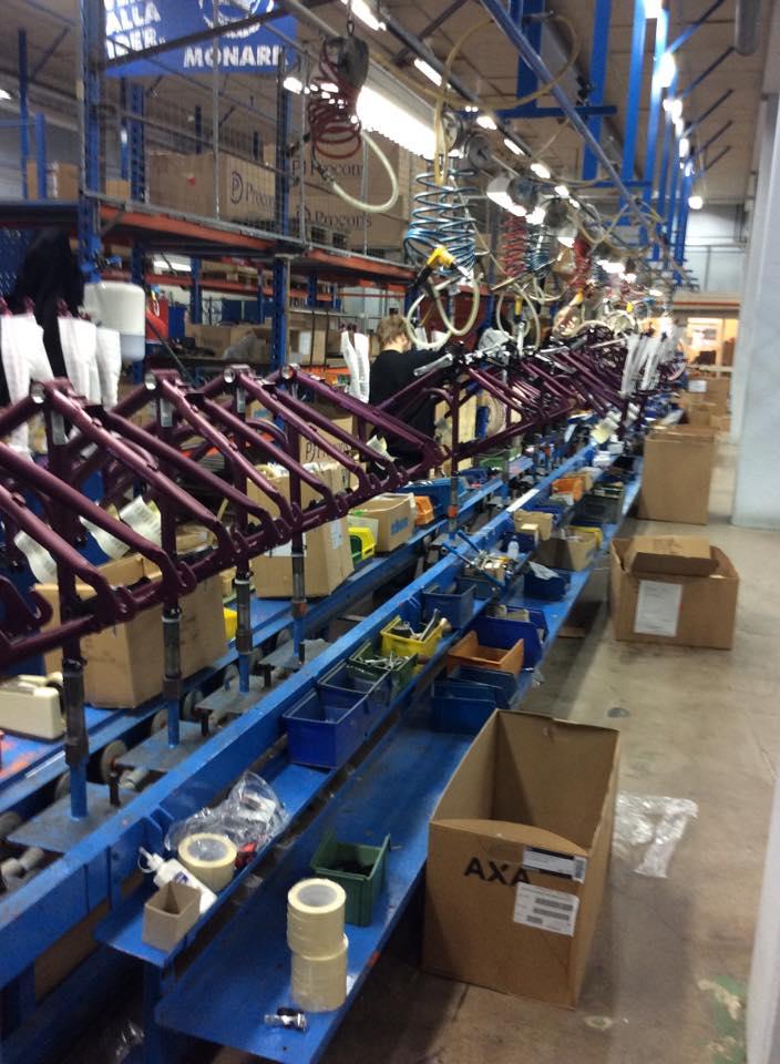 Besök på crescent fabriken i varberg