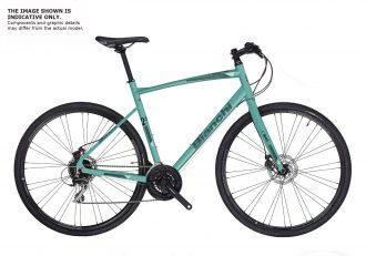 Bianchi som sportcykel i celeste färgen