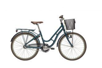 """24"""" barncykel monark 3-vxl nya färgen petrol"""