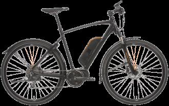 sportcykel från crescent med el