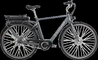 Elcykel från crescent som produceras i varberg.