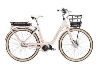crescent elcykel modell elora med mittmotor