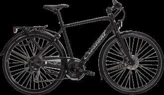 Crescent sport cykel med full utrustning så som justerbar styrstam, lås, pakethållare ,långa skärmar och heltäckande kedjeskydd.