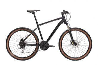 Ny fräck cykel från crescent med fjädrande framgaffel och hydruliska skivbromsar