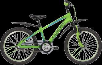 crescent barncykel 3-vxl med fotbroms och har modellnamn Narre