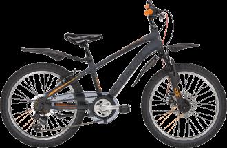 Äntligen har Crescent kommit med en tuff 6-vxl mtb cykel .