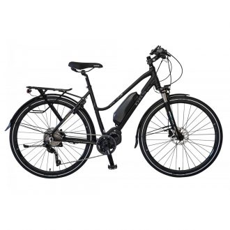 dbs metropolis dam elcykel 10 vxl svart