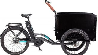 ecoride loader cargo trehjuling