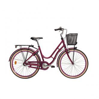 Klassisk damcykel från monark med modellnamnet karin och 3-vxl för de som är från ca 140cm långa