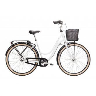 Monark dam cykel med 7-vxl fotbroms och är fullt utrustad . Modellnamn monica