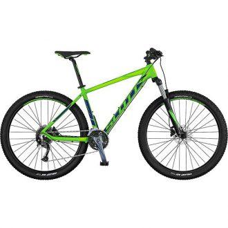 Instegs mtb cykel från scott med låsbar framgaffel och hydrauliska skivbromsar