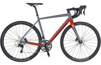 shimano 105 gravel bike med hydrauliska skivbromsar