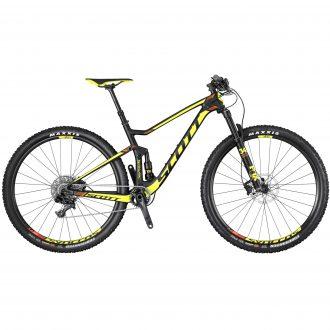 Scotts nya heldämpade mtb cykel i carbon dessutom