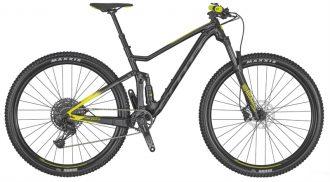 mtb cykel modell scott spark 970 svart 2020