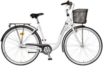 sjösala damcykel med 7-vxl och lågt insteg med modell namn Isabella