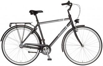 En standard cykel som håller länge med 3-vxl och märket Sjösala tillverkad i Varberg