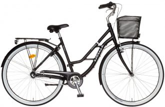 omplett damcykel med 3-vxl och fotbroms.