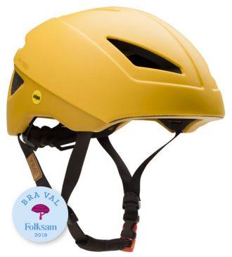 Tec Nice gul cykelhjälm